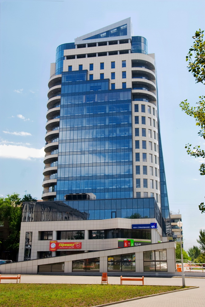 "Location:  Ukraine, Zaporozhye, st. Tbilisi, 2 (Business Center ""Khortitsa Palace"")"